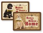 Personalizable Pet Name Mats