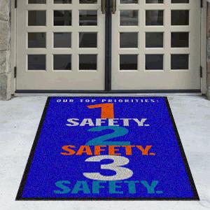 Safety Floor Mats Message Mats Motivational Mats