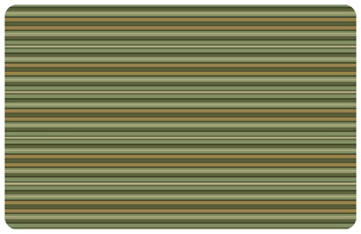 Tanson Stripe Forest Mat Signs Sku Mk 0123