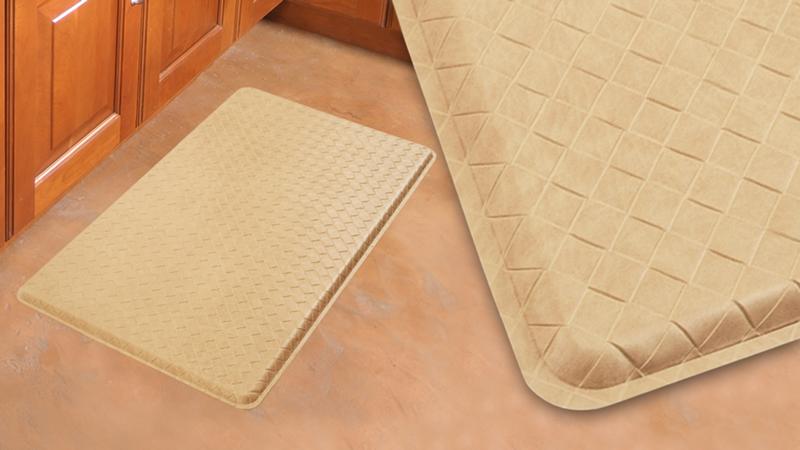 Gel soft anti fatigue kitchen floor mats - Professional kitchen floor mats ...