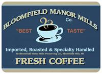 Bloomfield Coffee Mat