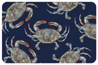 Blue Crabs Mat
