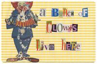 A Bunch of Clowns Mat
