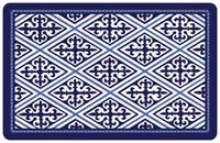 Deep Blue Diamond Mat