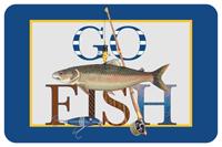 Go Fish Mat