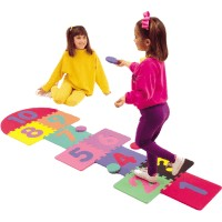 2' x 7' Hopscotch Set