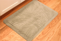 Palm Design Kitchen Mat