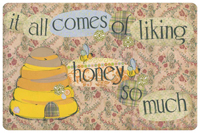 Liking Honey Mat