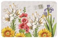 Postcard Floral Mat