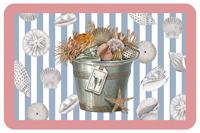Seashell Pail Mat