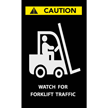Forklift Traffic Safety Message Mat