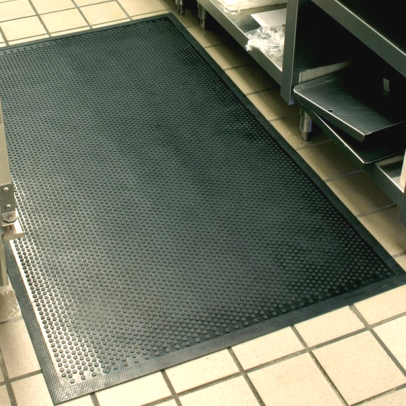 Safety Scrape Round Traction Mats For Wet Area
