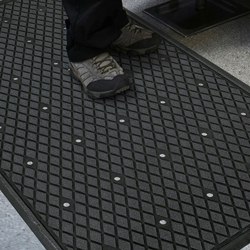 Silicon Carbide Coating Traction Hog Ii Commercial Mats