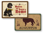 Custom Pet Welcome Mats