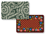 Printed Washable Mats