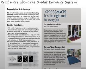 3-Mat Entrance System
