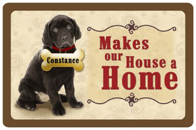Custom Mats Black Lab Mat Signs Sku Mk 3002