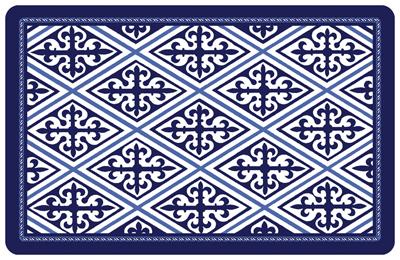 Marvelous Deep Blue Diamond Mat