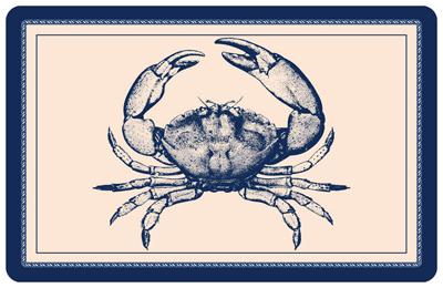Nautical Crab Mat Sku Mk 0047
