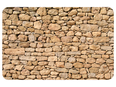 Stacked Stones Mat Signs, SKU: MK-0079