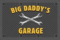 Big Daddy's Garage Welcome Mat