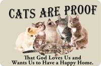 Cats are Proof Mat