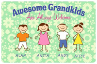 Awesome Grandkids Mat