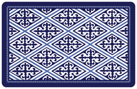 Deep Blue Diamond Mat