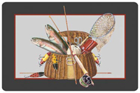 Fishing Creel Mat