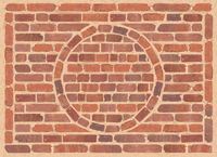 Framed Brick Mat