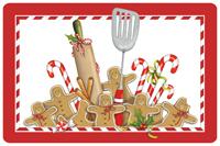 Gingerbread Kitchen Mat