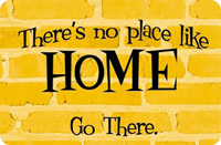 Go Home Welcome Mat
