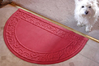 Half Round Scroll 2 Soft Impressions Microfibre Mat