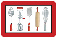 Kitchen Tools Mat