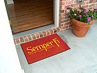 THE Mat to Show Your Support! MARINES.