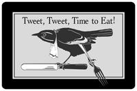 Tweet Tweet Mat