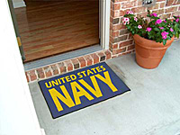 THE Mat to Show Your Support! NAVY.