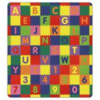 A-Z & 0-9 Soft Safe Play Mat