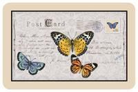 Postcard Butterfly Mat