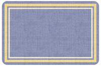 Texture Weave Blue Mat