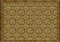 Tin Tile Bronze Mat