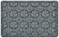 Tin Tile Pewter Mat