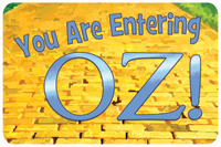You are Entering OZ! Mat