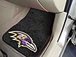 Logo Fan Mat Baltimore Ravens