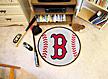 Logo Fan Mat Boston Red Sox