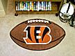 Logo Fan Mat Cincinnati Bengals