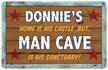 Personalizable Man Cave Mat