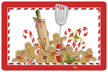 Gingerbread Kitchen Mat