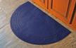 Half Round Vine Soft Impressions Microfibre Mat