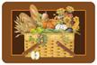 Harvest Basket Mat